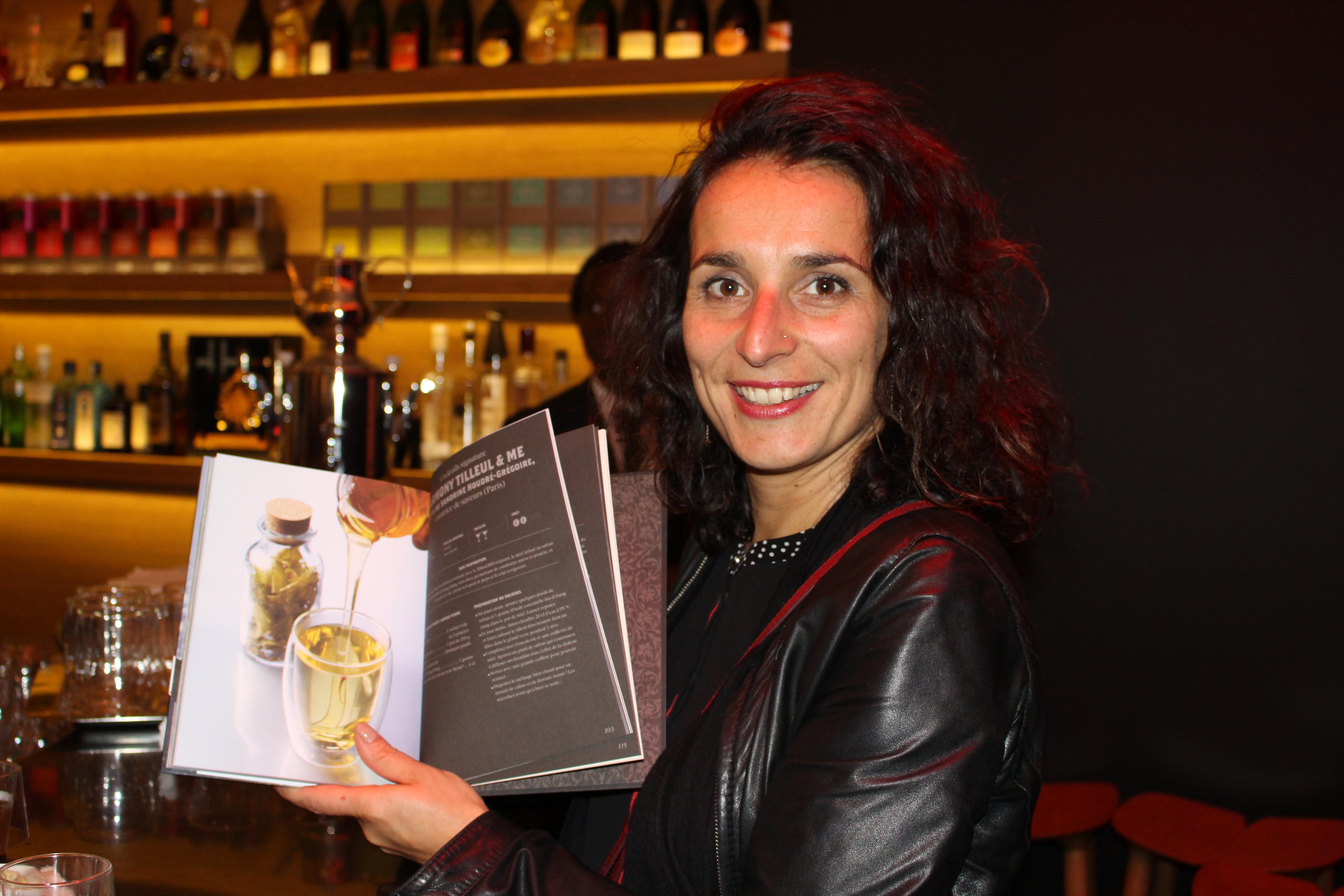 Sandrine Houdré-Grégoire présente sa recette