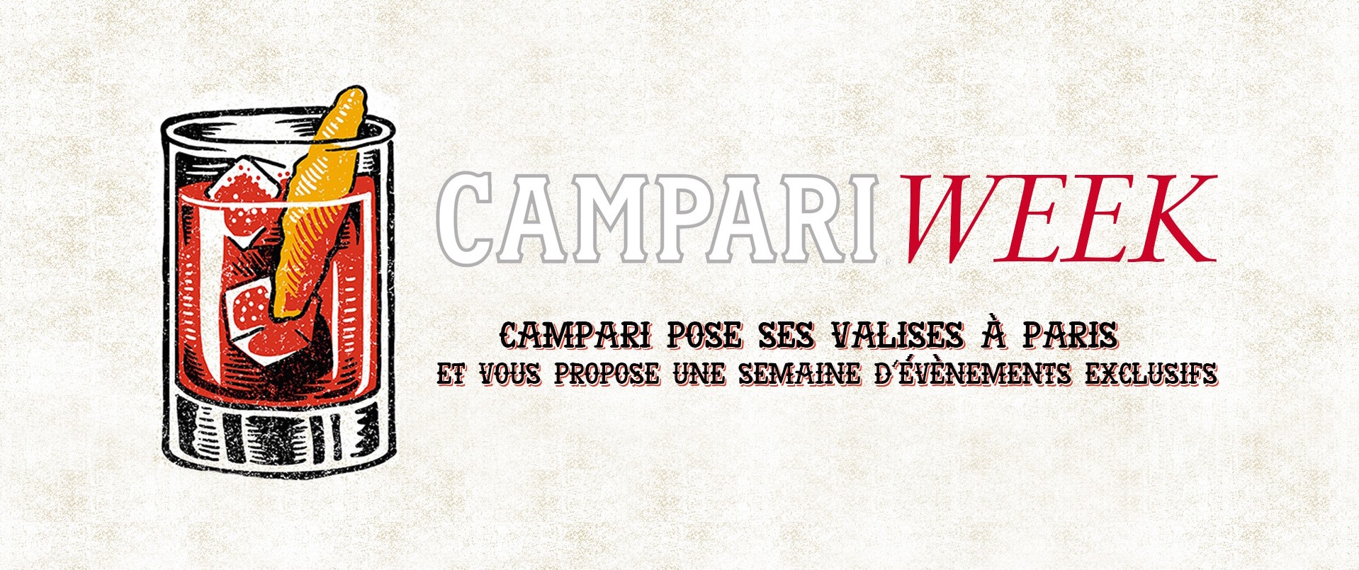 Campari Week à Paris