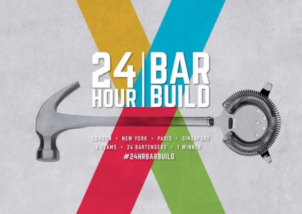 London Cocktail Week 2015 : 24Hr Bar Build