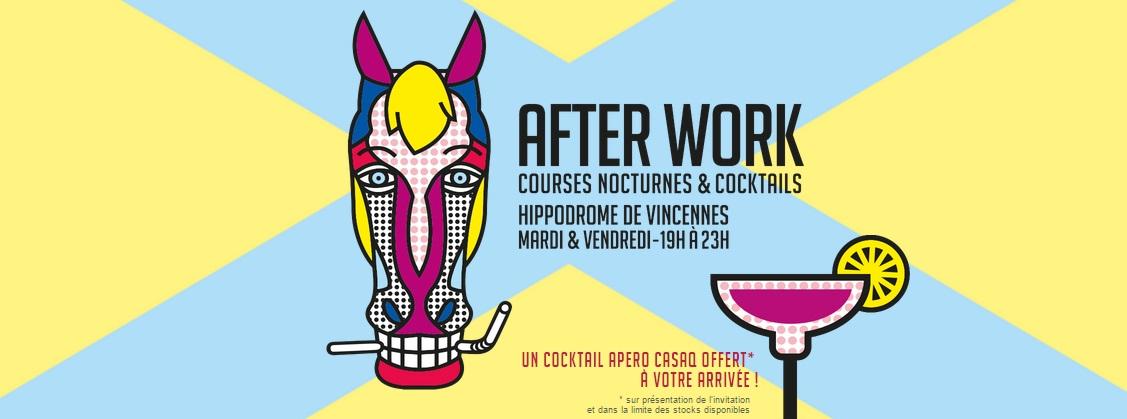 L'« APERO CASAQ » : un cocktail signé Joseph Biolatto à découvrir à l'Hippodrome de Vincennes