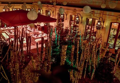 Foret Enchantee La Terrasse Hivernale Du Buddha Bar Hotel Paris