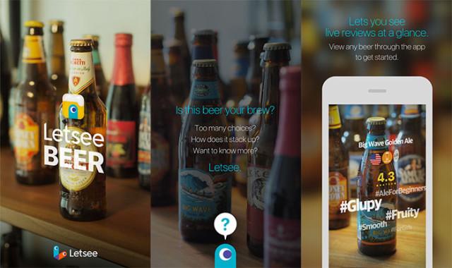 Letsee Beer, le Shazam de la bière