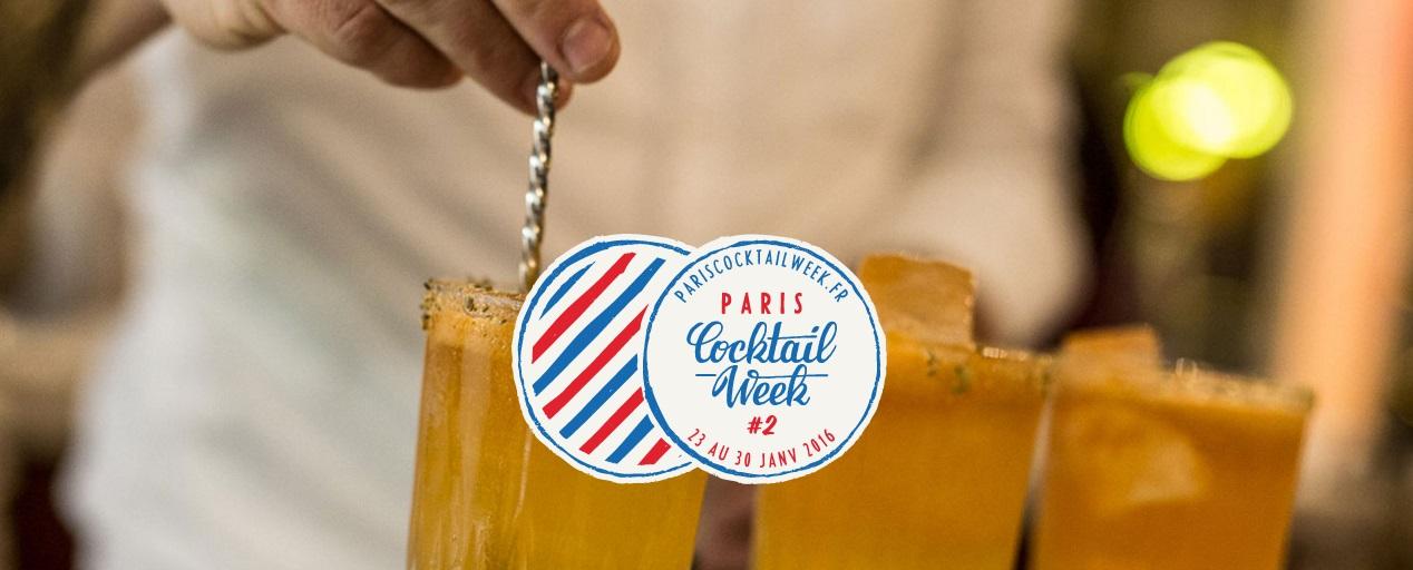 Paris Cocktail Week 2016 : les cocktails dévoilés