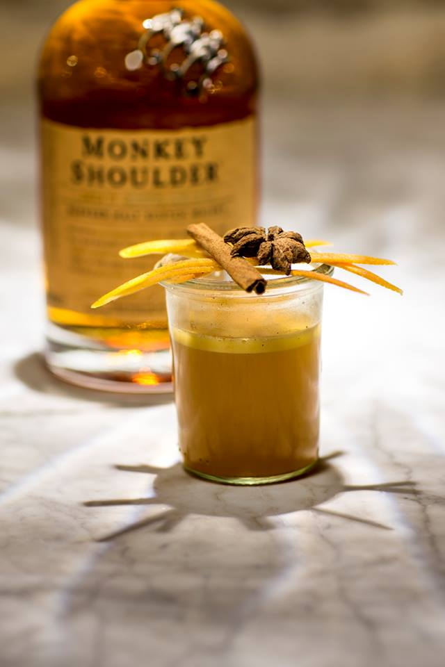 """Cocktail """"Hot Monkey Butter"""""""
