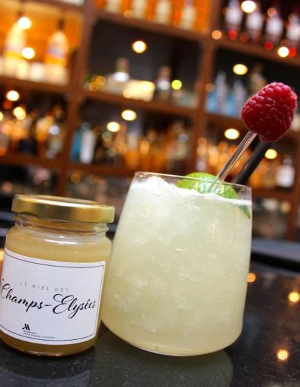 Cocktails détox au «Miel des Champs» au Paris Marriott Champs-Elysées