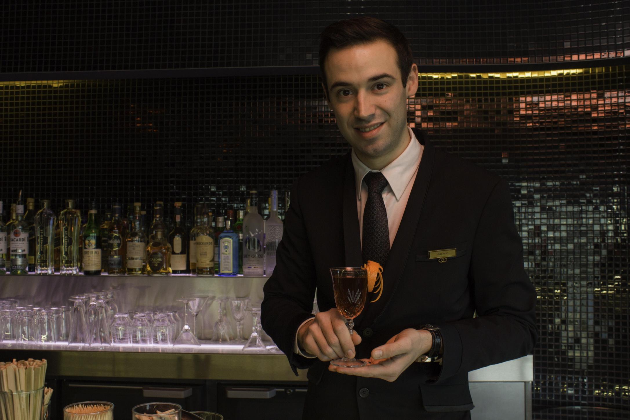 Bartenders at work by Infosbar : le CV express de Gaetan Costecalde