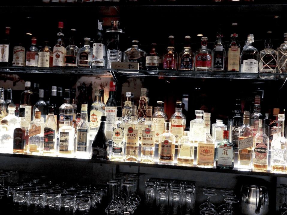 Le back-bar du redwood