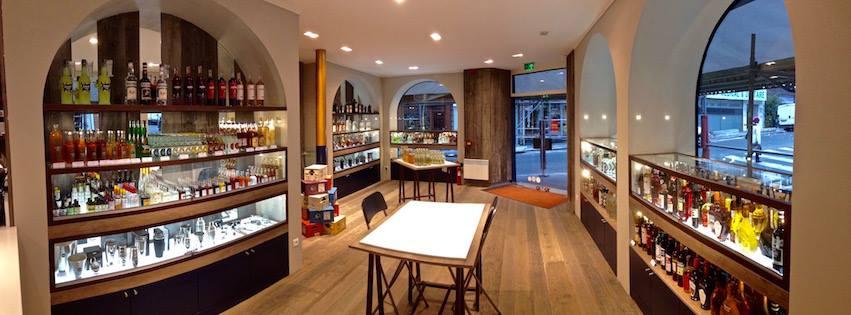Le Comptoir Major : la boutique du cocktail à Paris