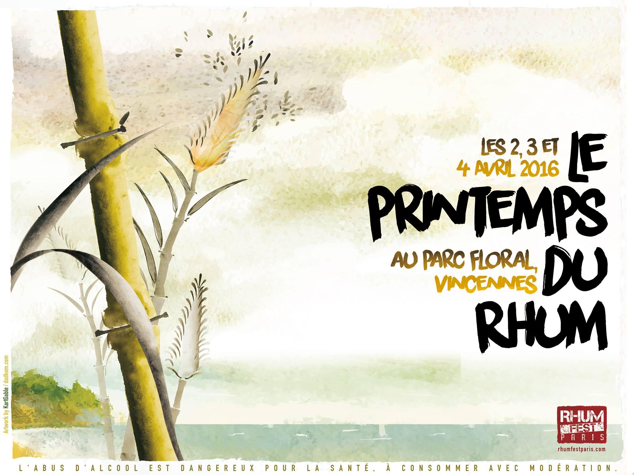 Rhum Fest Paris 2016 : le programme des master classes pro