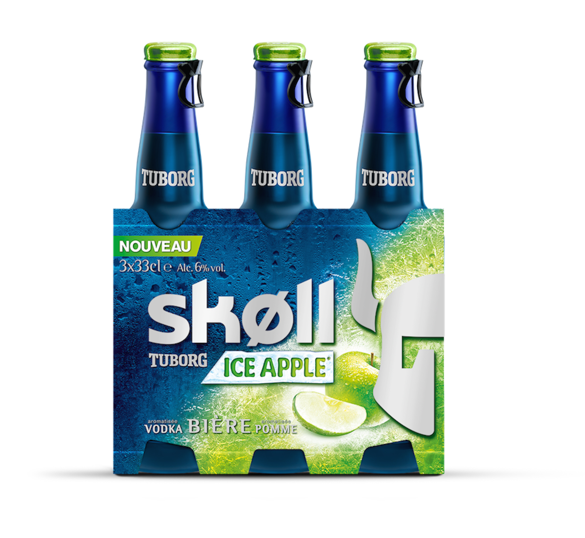 "Tuborg lance la Skøll en version ""Ice Apple"""