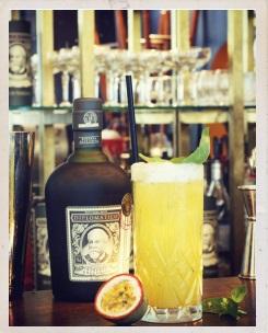 Cocktail El Rey Albahaca by Diplomático