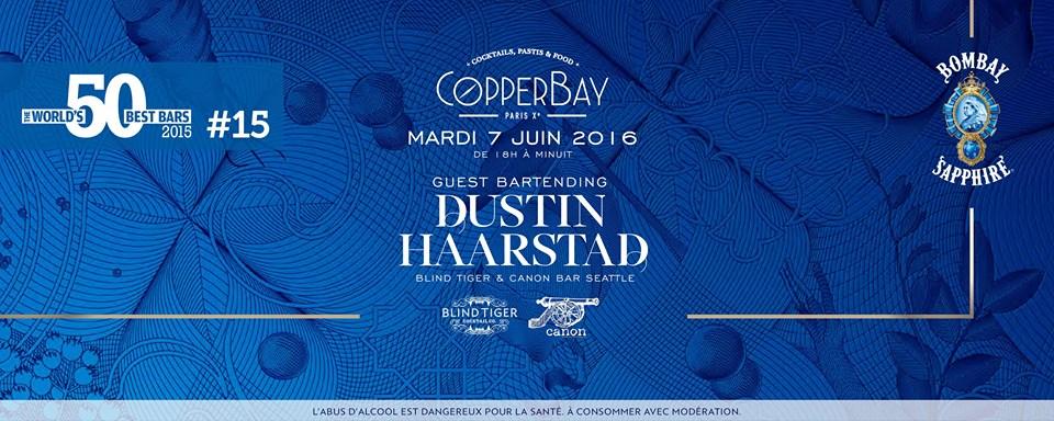 Dustin Haarstad : Guest Bartender du CopperBay