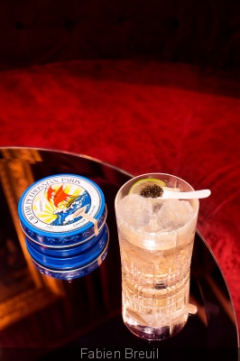 "Cocktail ""Tsar"" au Mathis Bar"
