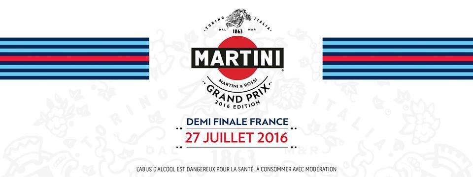 Martini Grand Prix Edition 2016 : les 10 finalistes de la demi-finale France