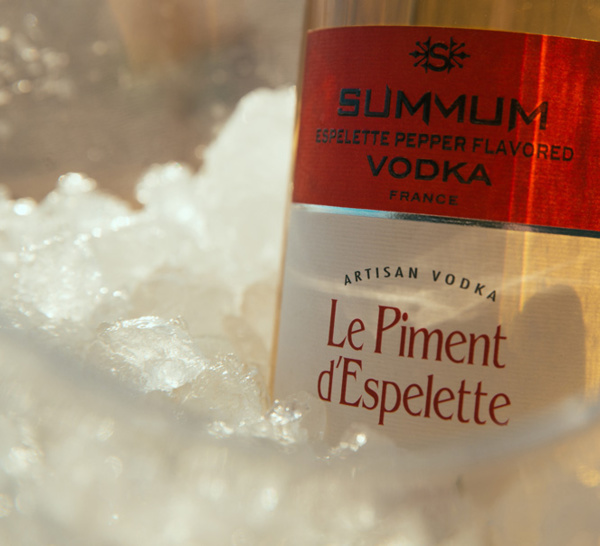 Summum Vodka se décline désormais au piment d'Espelette