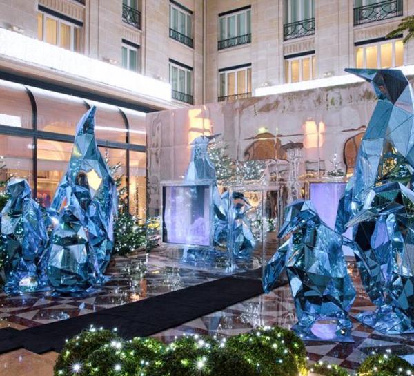 Ice Lounge au Four Seasons Hotel George V Paris