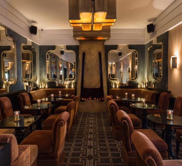 Le bar à cocktails de La Belle Armée à Paris