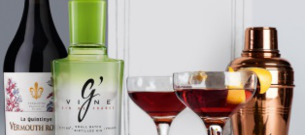 Saint Valentin 2017 : Cocktail « Valentino » by G'Vine