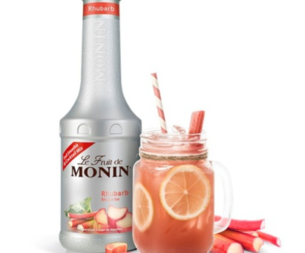 Innovation : Fruit de MONIN Rhubarbe