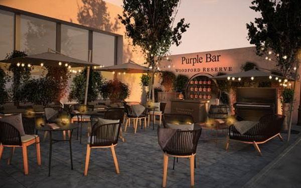 Bourbon Street au Purple Bar de l'Hôtel du Collectionneur