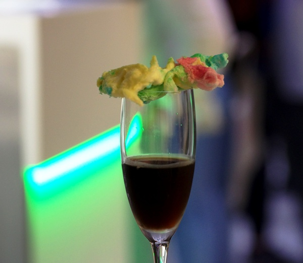 Cocktail Signature « Black Bite » by Nicola Battafarano