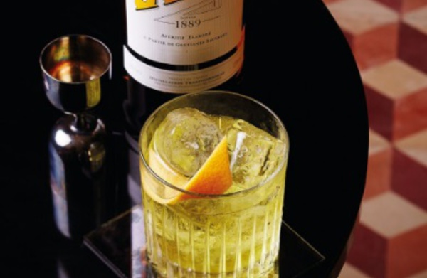 Cocktail White Negroni by Wayne Collins