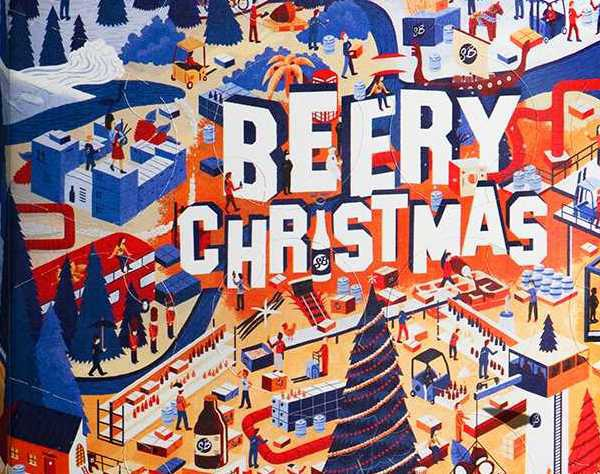 Beery Christmas : nouveau calendrier de l'Avent signé Saveur Bière