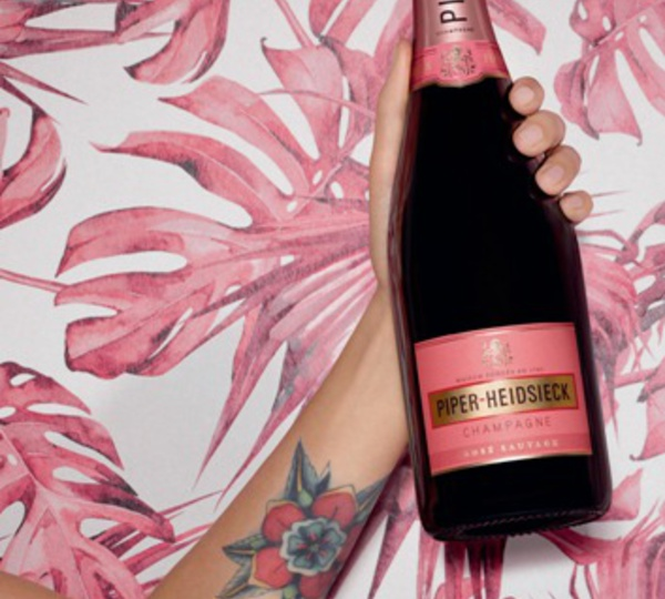 Rosé Sauvage by Piper-Heidsieck