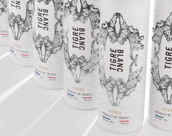 Vodka Tigre Blanc dévoile son nouveau design