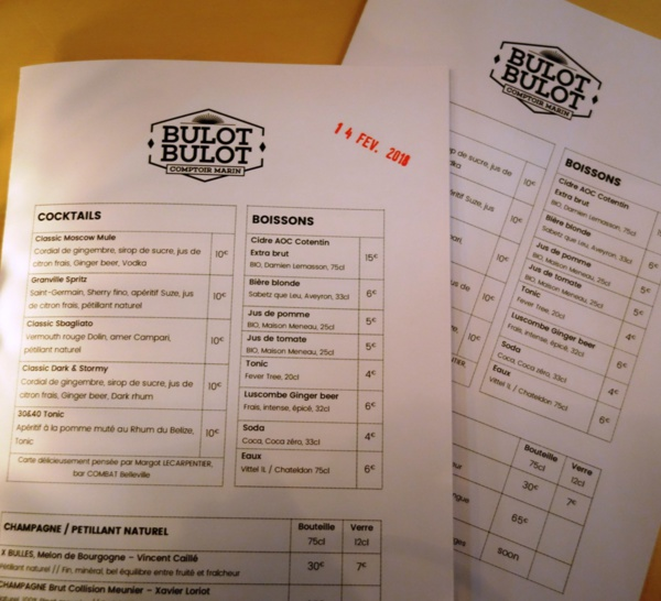 Infosbar Inside : le bar de Bulot Bulot à Paris