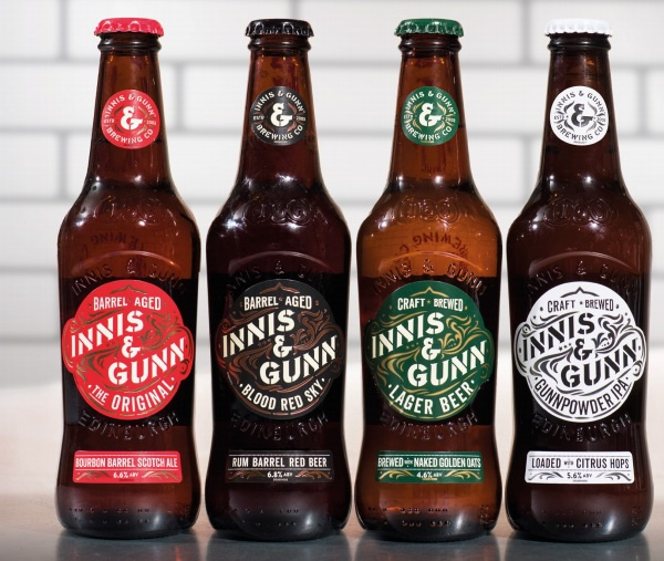Nouvelle collection de bières artisanales by Innis & Gunn