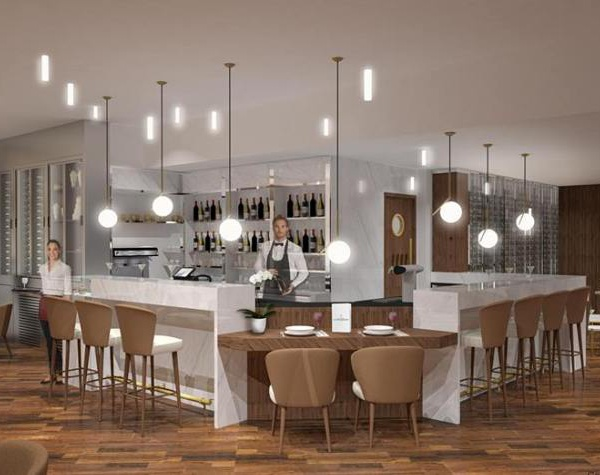 Le nouveau bar de l'Hôtel Le Gray d'Albion à Cannes