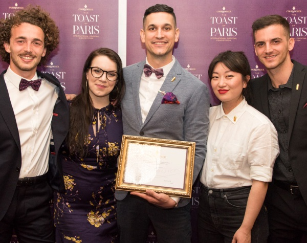 Toast of Paris 2018 by Courvoisier : l'Autriche remporte la grande finale