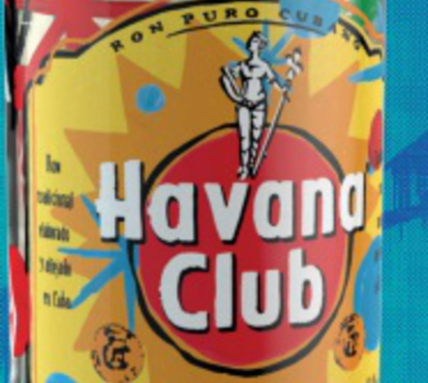 By Hand : bouteille collector signée Havana Club