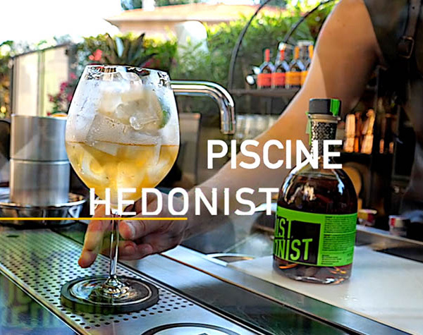 Recette cocktail facile : la piscine Hedonist