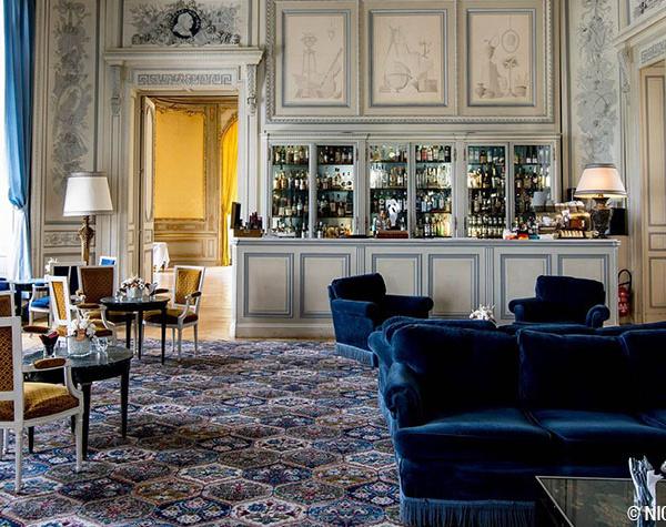 Le bar à cocktail du Château d'Artigny