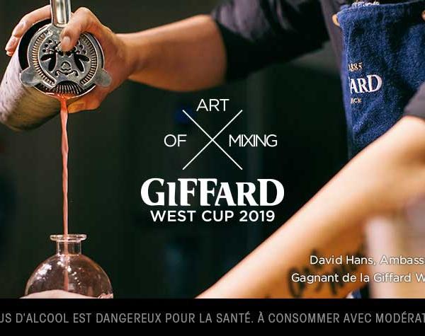 Derniers jours pour s'inscrire au concours de cocktails Giffard West Cup 2019