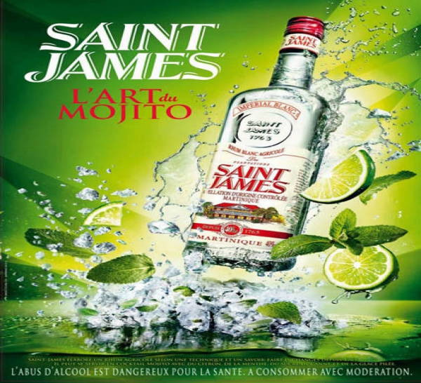 Le rhum Saint James lance son grand concours : l'Art du Mojito