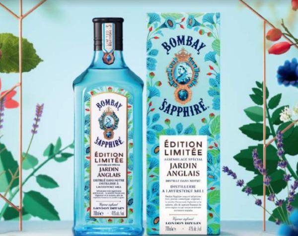 Jardin Anglais : première édition limitée signée Bombay Sapphire®