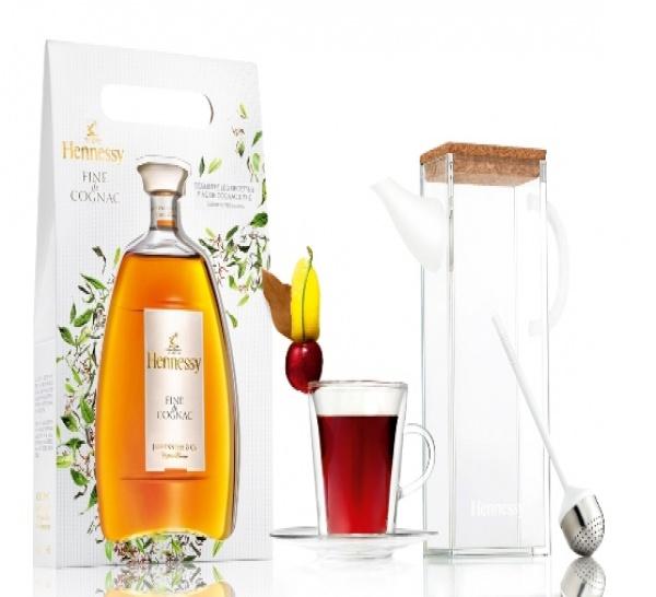 Les recettes de cocktails imaginées autour de FINE DE COGNAC & THÉ