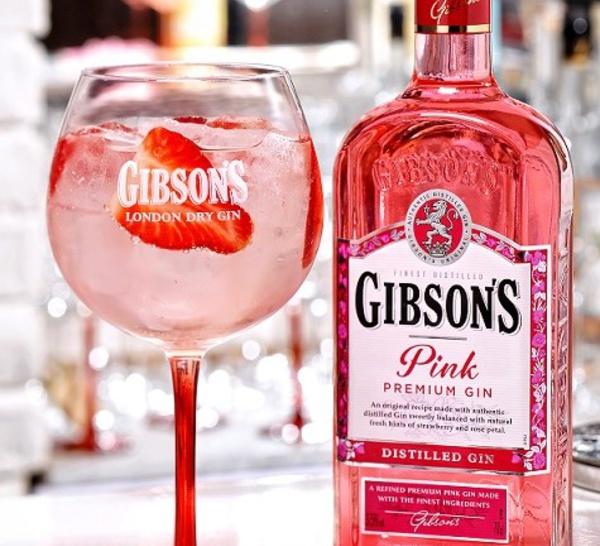 Nouveauté boisson : Gibson's Pink