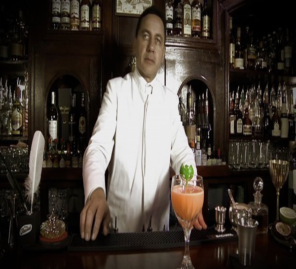 Cocktail Bacardi Recuerdo by Samuel Roustaing