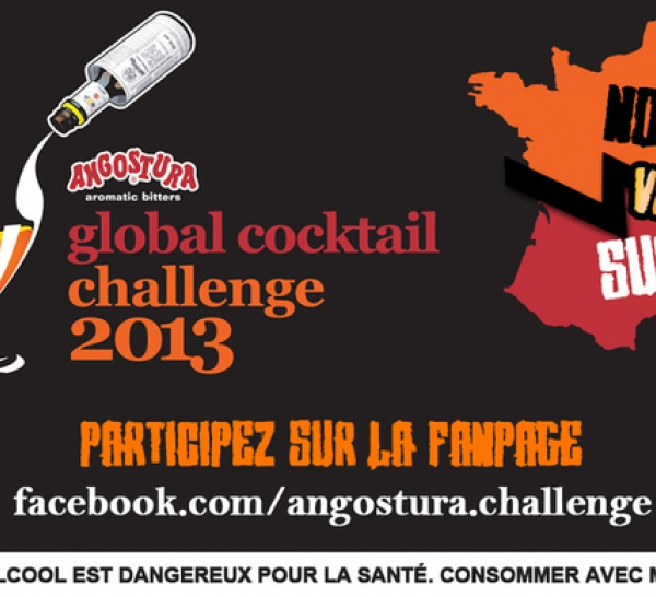 Angostura® Aromatic Bitters Global Cocktail Challenge 2013