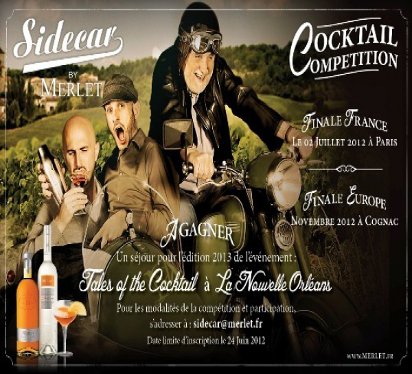 Cocktail Competition Sidecar By Merlet 2012