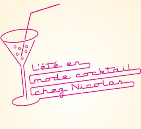 L'été en mode cocktail chez Nicolas