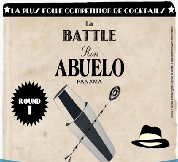Première Battle Abuelo au 43 Cocktail bar