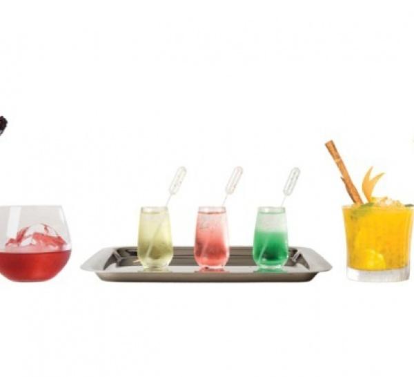 Carte de cocktails éphémère au Plaza Athénée et au Meurice