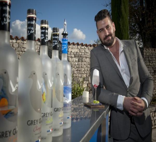 Richard Woods, vainqueur de la compétition de cocktails « Grey Goose 10 »