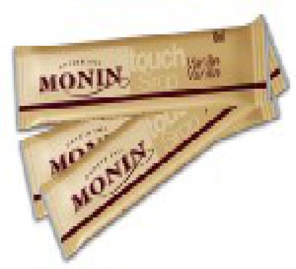 « Touch Sirop » de Monin, idée gourmande pour cafés aromatisés….