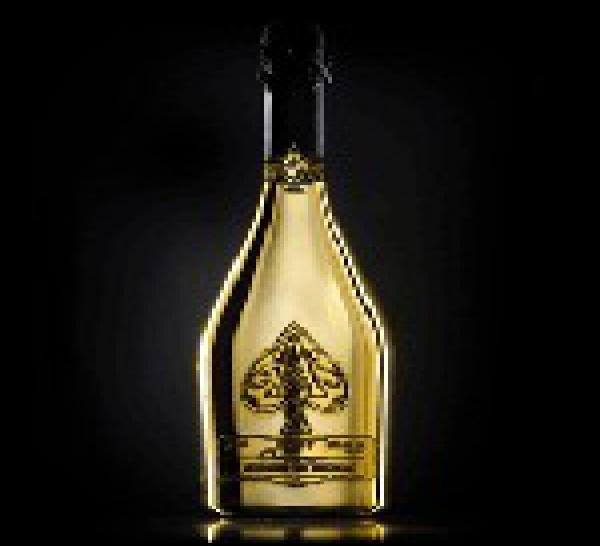 Champagne premium Armand de Brignac